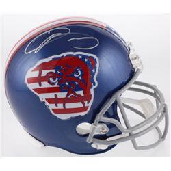 "Odell Beckham Jr. Signed Cleveland Browns ""American Flag"" Full-Size Helmet (JSA COA)"