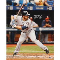 Tyler White Signed Houston Astros 16x20 Photo (Beckett COA)