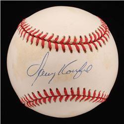Sandy Koufax Signed ONL Baseball (Beckett LOA)