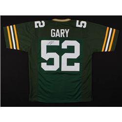 Rashan Gary Signed Green Bay Packers Jersey (JSA COA)