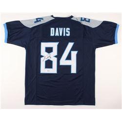 Corey Davis Signed Tennessee Titans Jersey (Beckett COA)