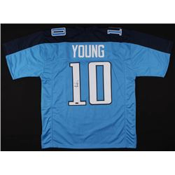 Vince Young Signed Tennessee Titans Jersey (TriStar Hologram)