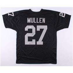 "Trayvon Mullen Signed Oakland Raiders Jersey Inscribed ""Just Win Baby"" (JSA COA)"