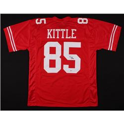 George Kittle Signed San Francisco 49ers Jersey (Beckett COA)