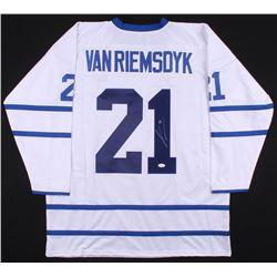 James van Riemsdyk Signed Toronto Maple Leafs Jersey (JSA COA)