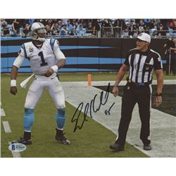 Ed Hochuli Signed 8x10 Photo (Beckett COA)