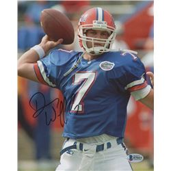 Danny Wuerffel Signed Florida Gators 8x10 Photo (Beckett COA)