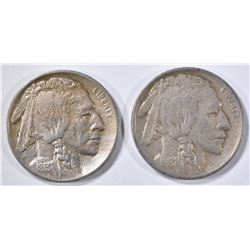 1913 T-1 & T-2 BUFFALO NICKELS
