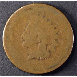 1877 INDIAN CENT, AG/G KEY DATE
