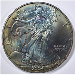 2004 AMERICAN SILVER EAGLE  COLOR