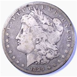 1889-CC MORGAN DOLLAR, FINE