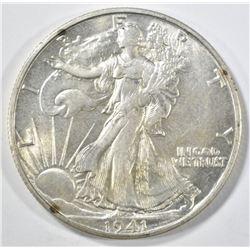 1941-S WALKING LIBERTY HALF DOLLAR BU