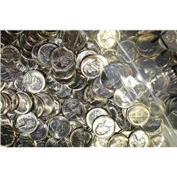 $74.00 FACE VALUE BU JEFFERSON NICKELS 1987-2008