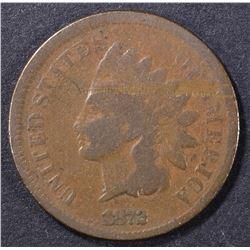 1872 G, SCRATCH INDIAN CENT