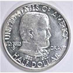 1922 GRANT COMMEM HALF DOLLAR  GEM BU