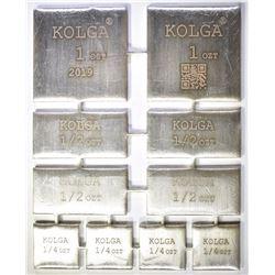 KOLGA 5-OUNCE  99.9 SILVER COMBO