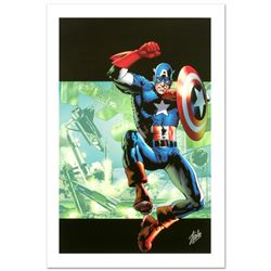 Captain America: Man Out Of Time #4 by Stan Lee - Marvel Comics