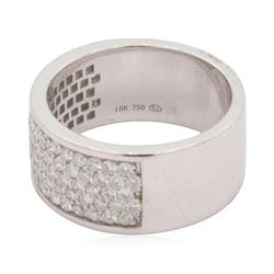 1.19 ctw Diamond Ring - 18KT White Gold