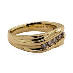 0.60 ctw Diamond Ring - 14KT Yellow Gold