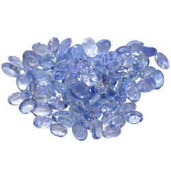 12.11 ctw Oval Mixed Tanzanite Parcel