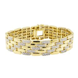 5.00 ctw Diamond Bracelet - 18KT Yellow Gold