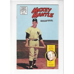 Mickey Mantle Issue #2 by Magnum Comics