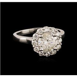 14KT White Gold 1.94 ctw Diamond Ring