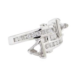 0.40 ctw Diamond Ring - 14KT White Gold