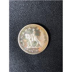 1873-1973 Canada Silver Dollar - RCMP