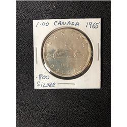 1965 CANADA SILVER DOLLAR