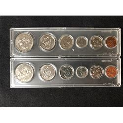 1969 & 1970 Uncirculated Canadian Coin Sets