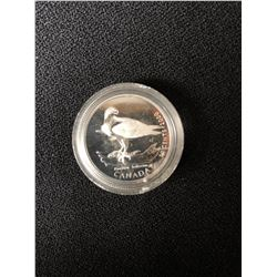 2000 CANADA'S BIRDS OF PREY - 50 CENTS - .925 SILVER PROOF