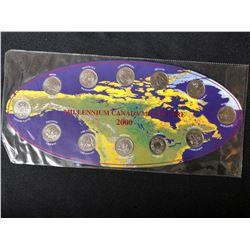MILLENNIUM CANADA 2000 COIN SET
