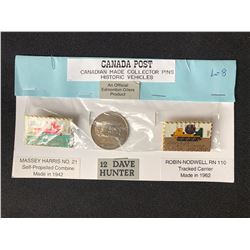 CANADA POST CANADIAN MADE COLLECTOR PINS (HISTORIC VEHICLES)