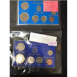 2 CANADIAN COIN SETS (1975 PLUS TYPE SET)