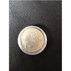 1981 Australian 20 Cent Piece