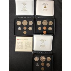 ROYAL CANADIAN MINT UNCIRCULATED COIN SETS