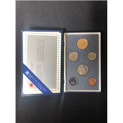 1989 ROYAL CANADIAN MINT 6 PIECE COIN SET