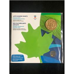 "VANCOUVER 2010 ""WITH GLOWING HEARTS"" COMMEMORATIVE MEDALLION"