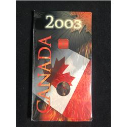 2003 ROYAL CANADIAN MINT 25 CENTS (CANADA DAY CELEBRATION)