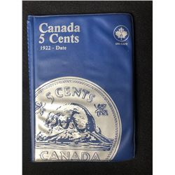 CANADIAN 5 CENT COLLECTION