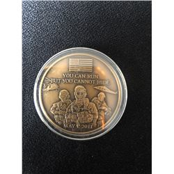 "9/11 Commemorative Coin ""You Can Run But You Cannot Hide"""
