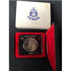CANADA 1871-1971 BRITISH COLUMBIA SILVER DOLLAR