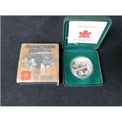 2002 GOLDEN JUBILEE PROOF DOLLAR (ROYAL CANADIAN MINT)