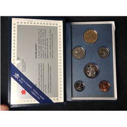 1993 ROYAL CANADIAN MINT 6 PIECE COIN SET