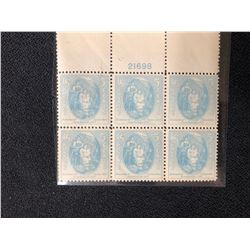 USA 5 CENT POSTAGE STAMPS (UNCUT)
