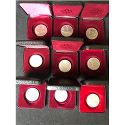 CANADIAN DOLLAR COIN LOT