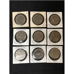 CANADIAN DOLLAR COIN LOT (1968-1983)