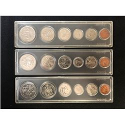 CANADIAN COIN SETS LOT