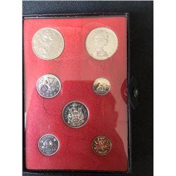 1972 Royal Canadian Mint - 7 Coin Special Mint Set - Original Box